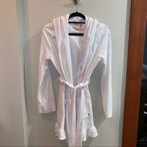 Juicy Couture Robe in white, size small